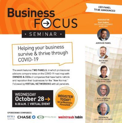 Business Focus Flyer