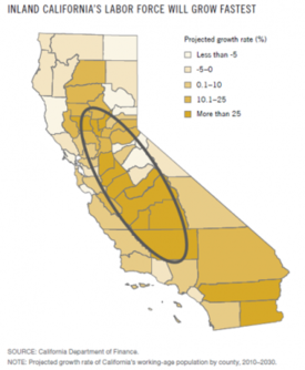 Central Valley Map